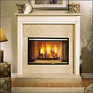 Sovereign Wood Burning Fireplace by Wilshire Fireplace Shop