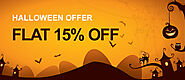 Halloween Special Offers! Get FLAT 15% discount