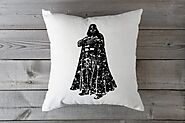 Darth Vader on Pillow - Star Wars Superhero - Star Wars inspired Pillow - Star Wars pillow - Star Wars Throw Pillow C...