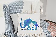 Custom Pillow Gift For New Mom - Personalized Pillow - New Parents Gift - Newborn Gift - Birth Announcement or Birthd...