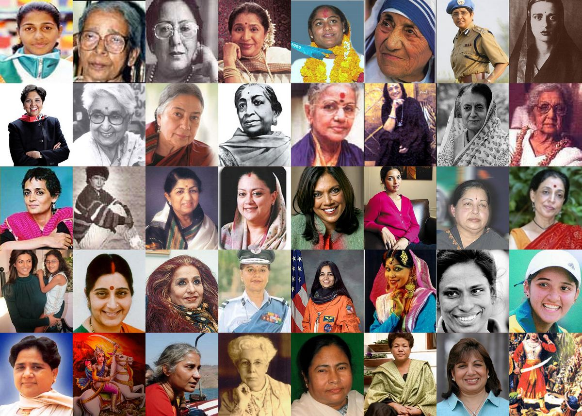 Headline for Ten of the Most Influential Women of India