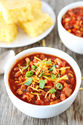 Slow Cooker Turkey Chili Recipe | Crockpot Chili Recipe | Two Peas & Their Pod