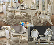 Designer Teak Wood Dining Room Furniture Set Archives - DST International