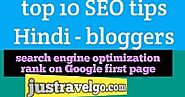 10 Tips To Improve Seo In Blogger Site