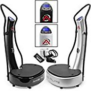 GForce DUAL MOTOR Whole Body Vibration Power Vibe Plate Exercise Machine with DVD