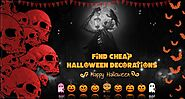 How to Find Cheap Halloween Decorations Online