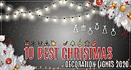 10 Best Christmas Decoration Lights 2020