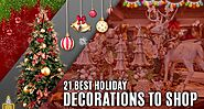 21 Best Holiday Decorations To Shop For The Merriest Christmas