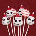 Jack Skellington Cake Pops