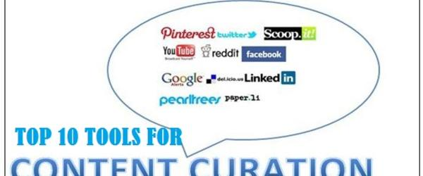Headline for Top 10 Tools for Content Curation