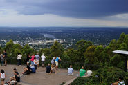 Enjoy the view from Brisbane Lookout