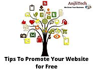 Top 10 Effective Ways To Promote Your Website For Free | Anjlitech