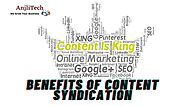 Benefits Of Content Syndication - Step By Step Guide To Syndicating Content | Anjlitech