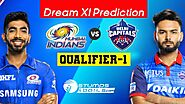 IPL 2020 Qualifier 1 - MI vs DC Dream11 Fantasy Predictions and Betting Tips