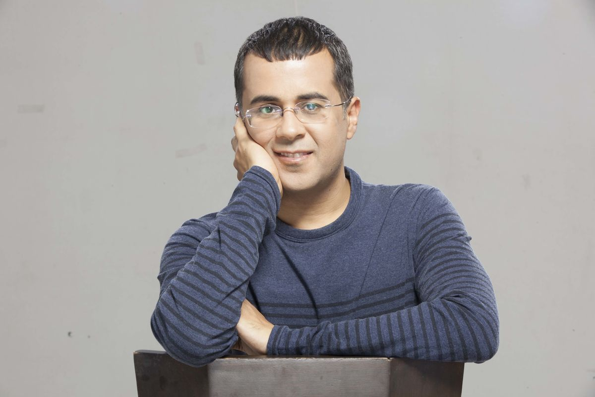 Headline for Books by Chetan Bhagat, India's best-selling author