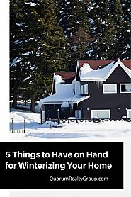 5 Things to Have on Hand for Winterizing Your Home