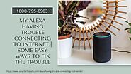 Alexa Won't Connect to WiFi 1-8007956963 Connect Alexa to WiFi -Call Now