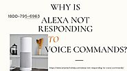 Alexa Not Responding Resolve Now 1-8007956963 Instant Fix Why Alexa Not Working