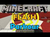 Flash Parkour Map 1.8/1.7.10 and 1.7.2
