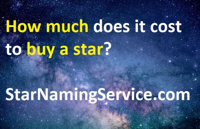 Name A Star: Best Info About Buying Stars In 2021 | A ...