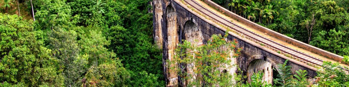 Headline for Highlights of Nine Arch Bridge - Train Ride, Nine Arch, Demodara Loop, Scenic View