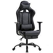 BestOffice PC Gaming Chair, Black