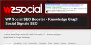 "WordPress › WP Social SEO Booster - Knowledge Graph Social Signals SEO "" WordPress Plugins"