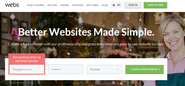 Create a Free Website on Webs. Better Websites Made Simple.