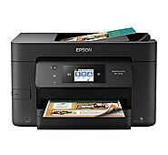 Epson WorkForce Pro WF-3720 Wireless All-in-One Color Inkjet Printer, Copier, Scanner with Wi-Fi Direct, Amazon Dash ...