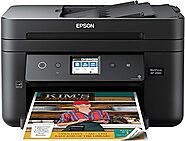 Epson Workforce WF-2860 All-in-One Wireless Color Printer with Scanner, Copier, Fax, Ethernet, Wi-Fi Direct and NFC, ...