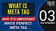 What is Meta Tag? Complete Guide in Hindi | SEO Course for Beginners