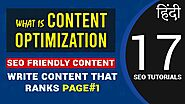 Content optimization | How to Write SEO Content That Ranks Page #1