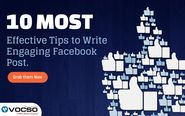 10 Most Effective Tips to Write Engaging Facebook Post