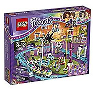 LEGO Friends Amusement Park Roller Coaster Set #41130 (Ages 8-12)