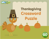 ABCya! | Thanksgiving Crossword Puzzle