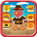 Thanksgiving Turkey Dressing Up Game For Kids