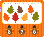 FlapJack Educational Resources: Leaf Counting Smart Board Freebie