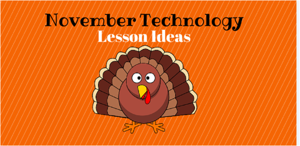 Headline for November Lesson Ideas