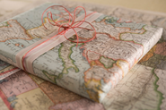 Maps as Wrapping Paper