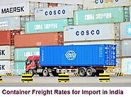Container Freight Rates for Import in India | Freight Containers| Ace Freight Forwarder