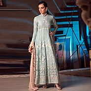 Pakistani Chiffon Suits UK USA Canada Australia | ShadiDress.com