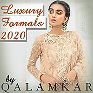 Luxury formals 2020 by Qalamkar | Special Discount