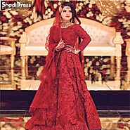 Pakistani Bridal Dresses UK USA Canada Australia | ShadiDress.com