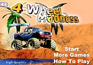 Play 4 Wheel Madness Unblocked 2020 [New]