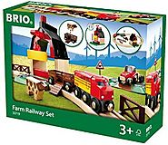 Schylling Brio Farm Railway Set (Ages 3 and up)