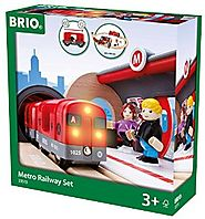 Schylling Brio Metro Railway Set (Ages 3-10)