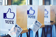 Social Media Newsfeed: Facebook Voting Button | Evernote Work Chat - SocialTimes