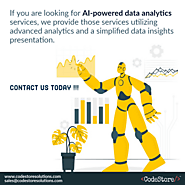 Best AI Powered Data Analytics & Insights App Development Company In Dubai