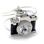 Photography Crystal Necklace