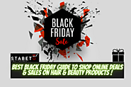 Best Black Friday 2020 Guide to Shop Online Deals & Sales on Hair & Beauty Products